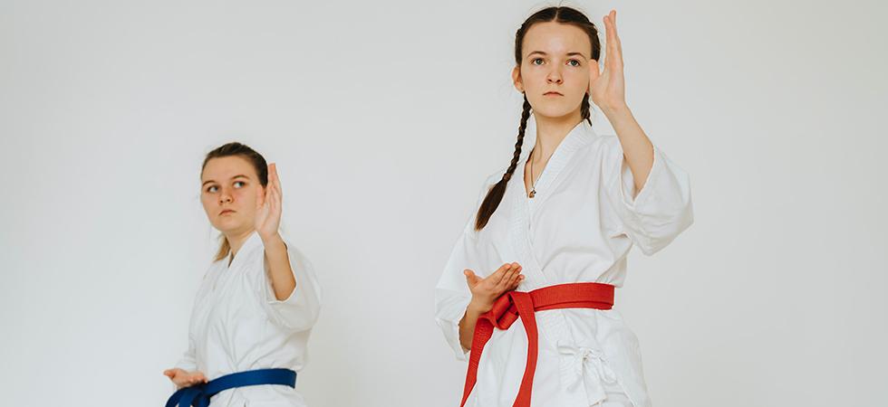 Karate als zelfverdediging