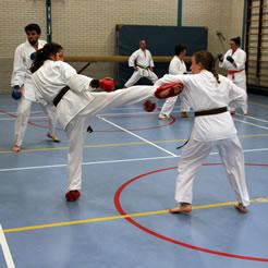 Kishido Karate | Leiden | Kumite | Sparren
