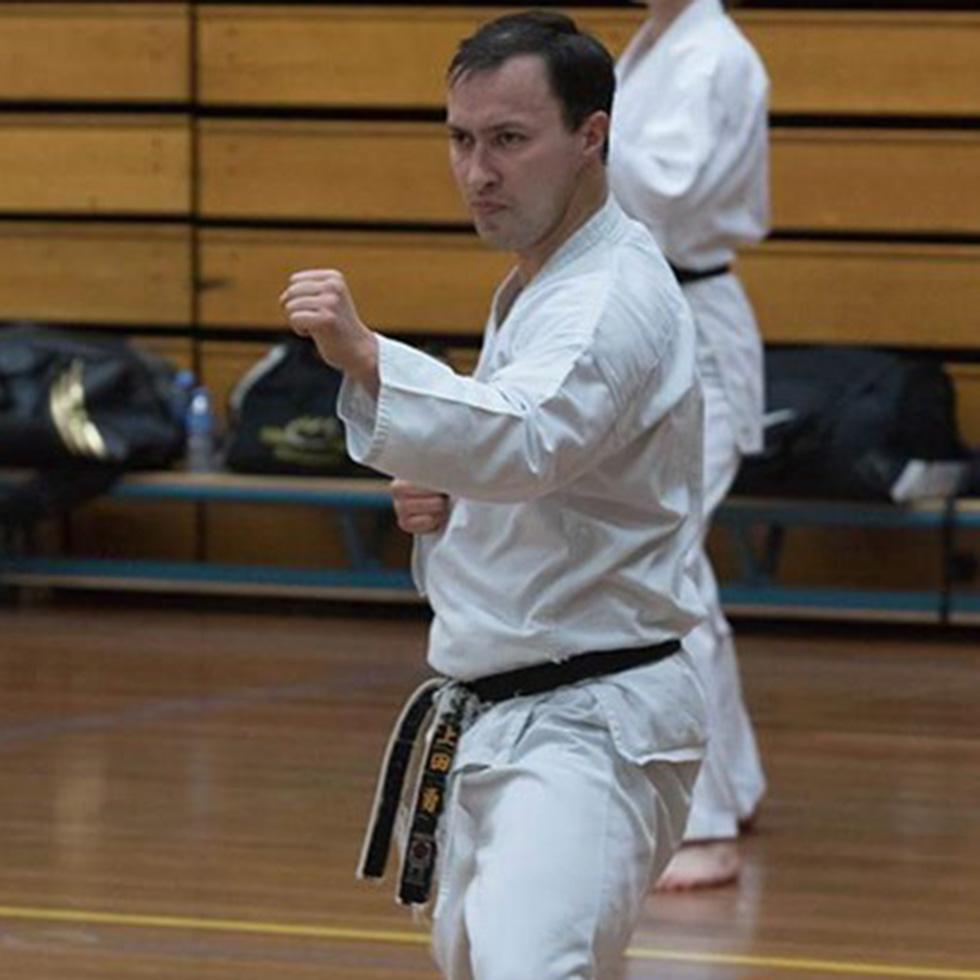Kishido Karate | Leiden | Dirk Vellinga | Voorzitter Kishido | Nederlands kampioen