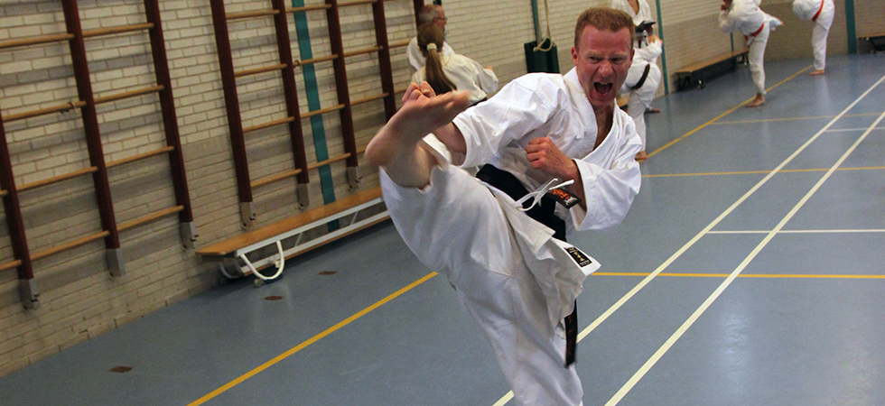 Kishido Karate   Leiden   Kime   Alles over karate   Roland de Bonth