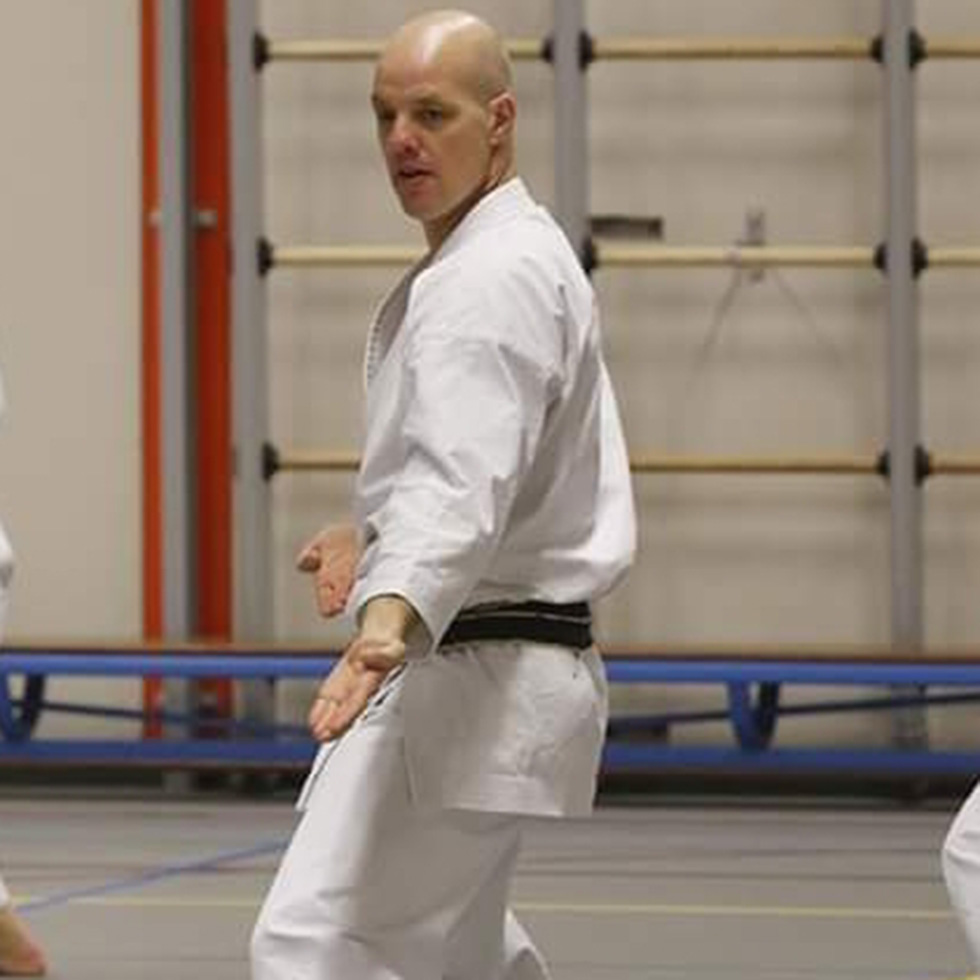 Kishido Karate | Leiden | Tahar van der Straaten | Penningmeester Kishido
